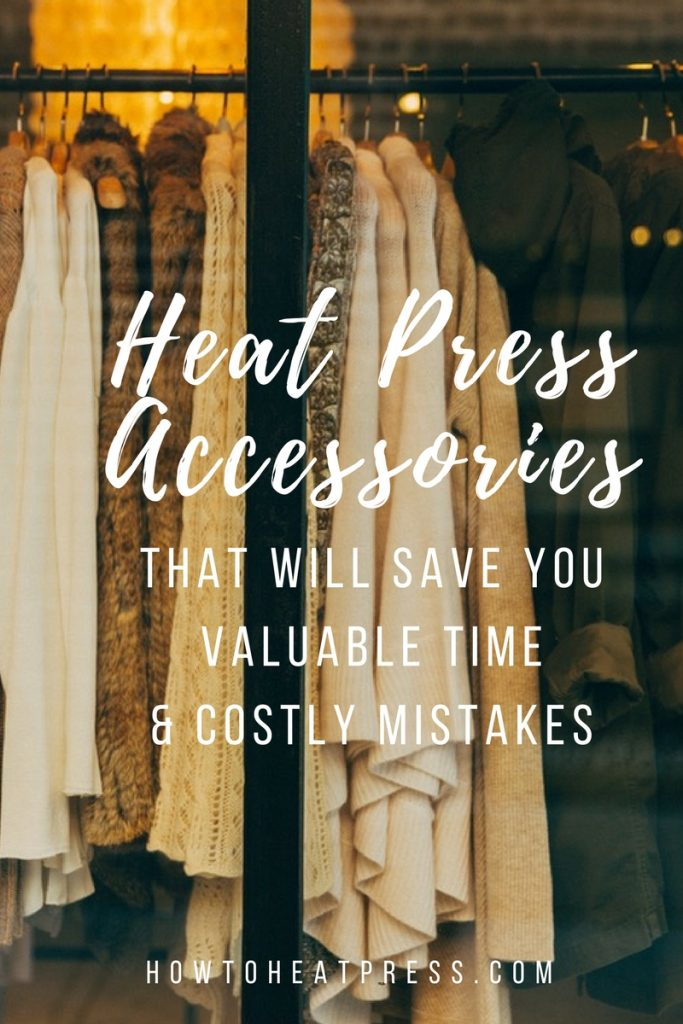 Heat Press Accessories That Will Save You Valuable Time